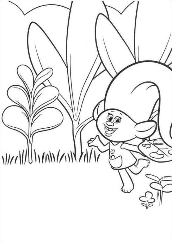 26 coloring pages of Trolls on KidsnFun.co.uk. On Kidsn