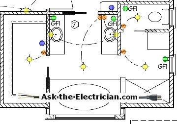electrical-wiring-diagram-bathroom | Electrical wiring, Electrical layout, Electrical  wiring diagramPinterest