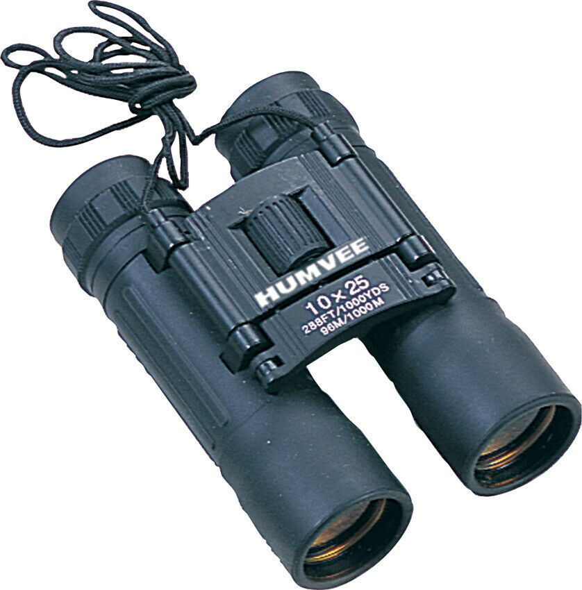 Advertisement Ebay Humvee 10x25b Binoculars 10x25 Black Body Rubber Armor Coated Binoculars Black Body Black