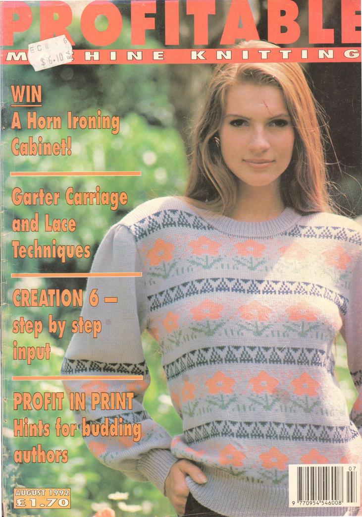 Profitable Machine Knitting Magazine 1992.08 Free PDF