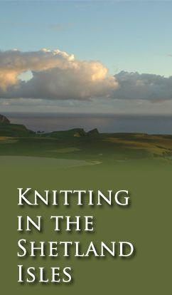 Knitting in the Shetland Isle
