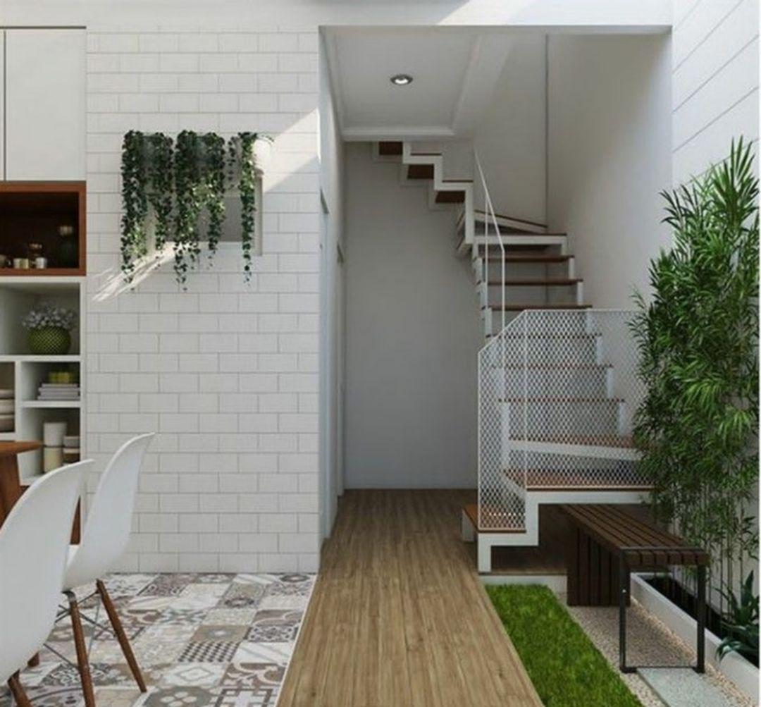 30 Simple Tiny House Interior Ideas For Inspiration Arsitektur Desain Eksterior Tips Dekorasi Rumah