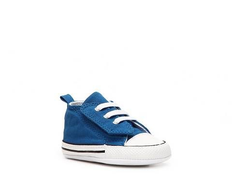 Converse Chuck Taylor All Star First Star Boys Velcro Crib Shoe