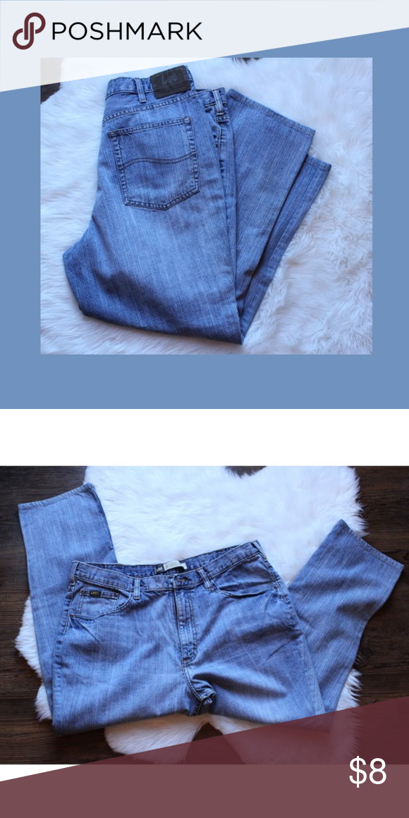 Lee Jeans ventage size is missing so laid flat across the top is