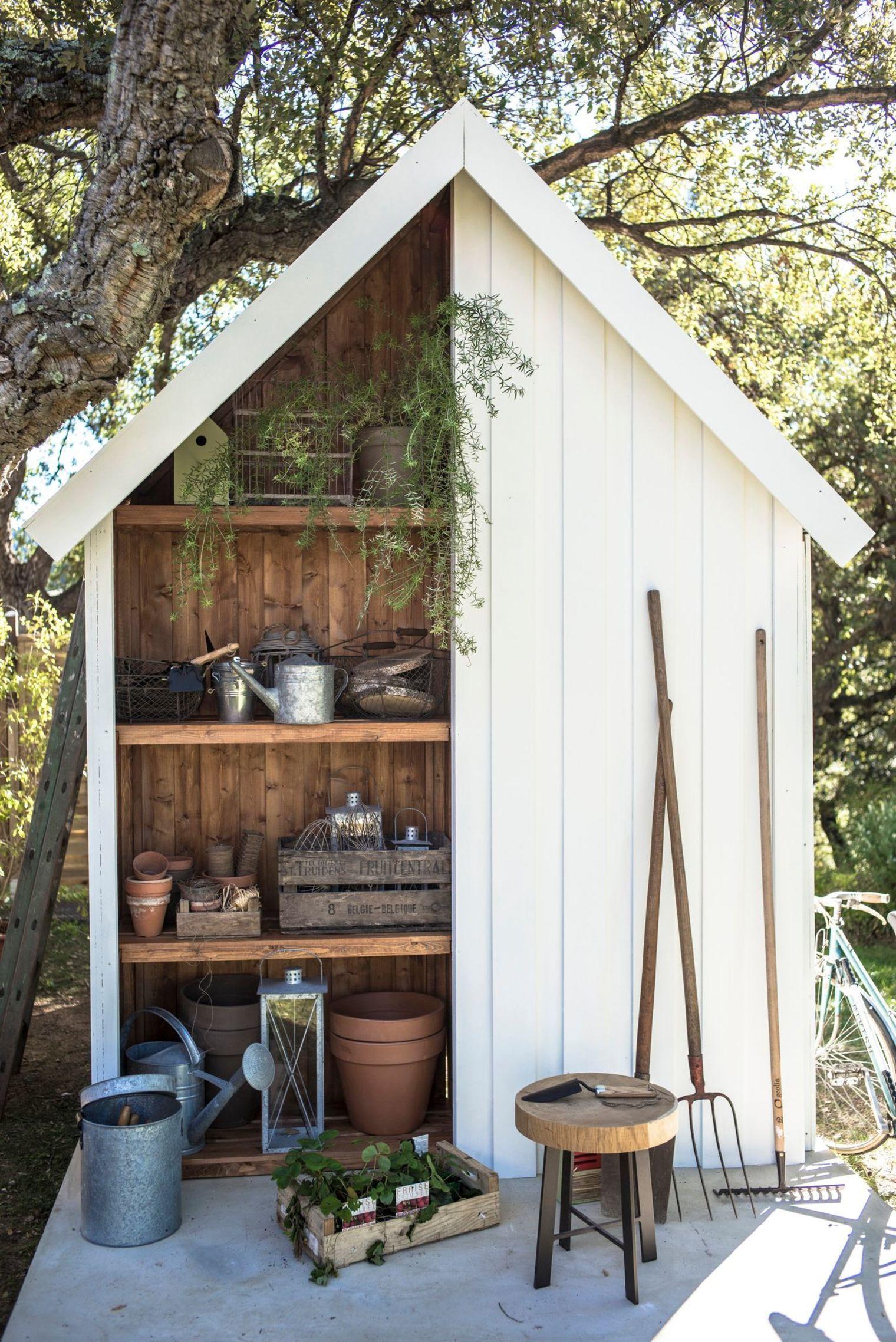 Abri de jardin bois, pvc, toit plat | Abris jardin | Abri de ...