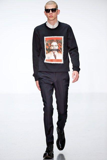A. SAUVAGE Spring 2015 | Men's London Fashion Week