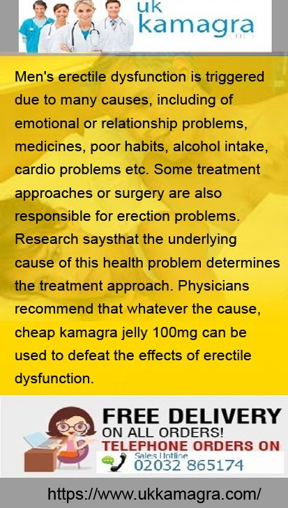 cardio erectile dysfunction
