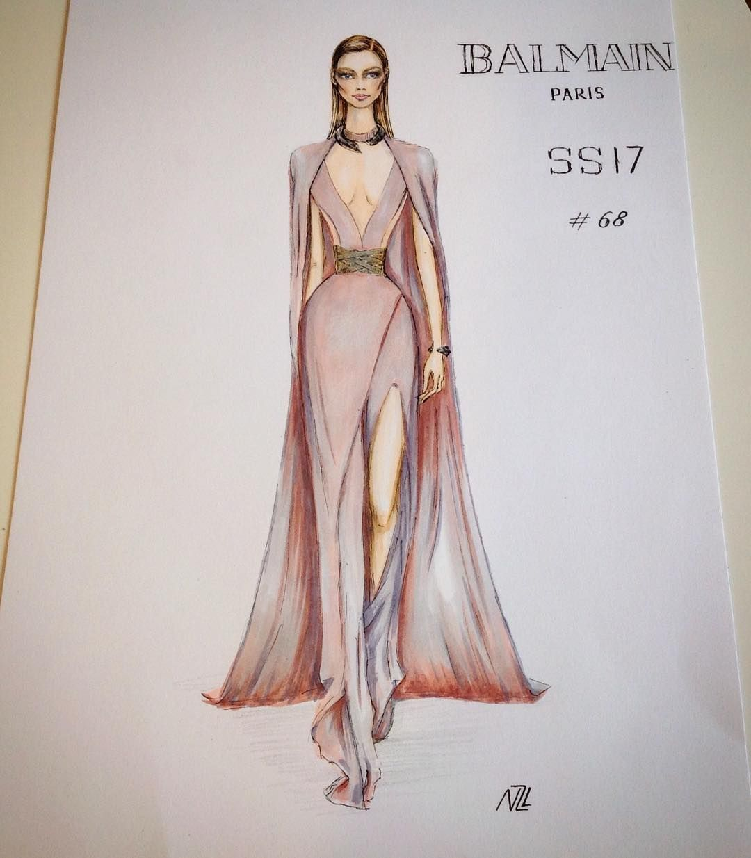 Fashion Illustration Fashion Women Drawings Sketches