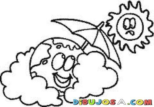 Calentamientoglobal Dibujo Del Planeta Tierra Cubriendoae Del Sol Con Una Sombrilla Para Colorear El Mundo Y El Sol Colore Art Arabic Calligraphy Calligraphy