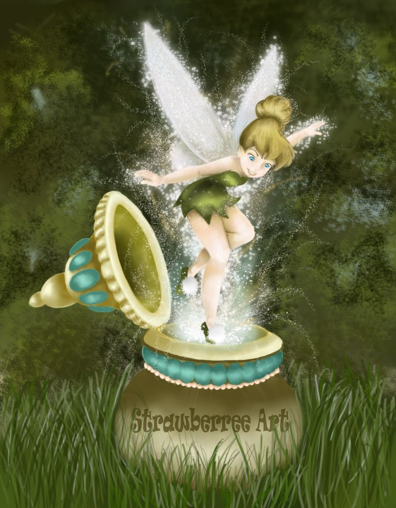 Tinkerbell by Strawberree.deviantart.com on @deviantART