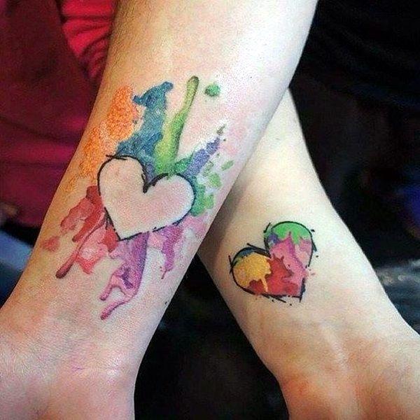 e022a2803 40 Adorable Sisters Forever Tattoo Design Ideas | Beautiful body art ...
