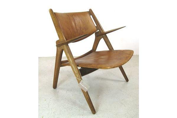 Hans Wegner Sawback Chair For Carl Hansen And Son Hans