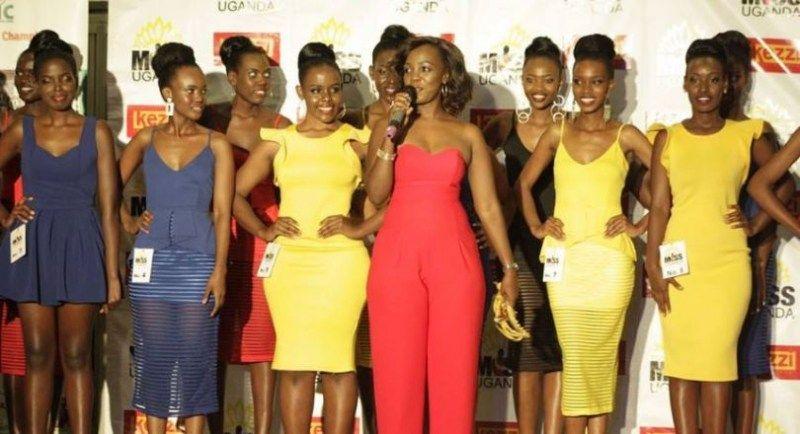 Reba uburanga bw' abakobwa 21 bahatanira ikamba rya nyampinga wa Uganda - AMAFOTO