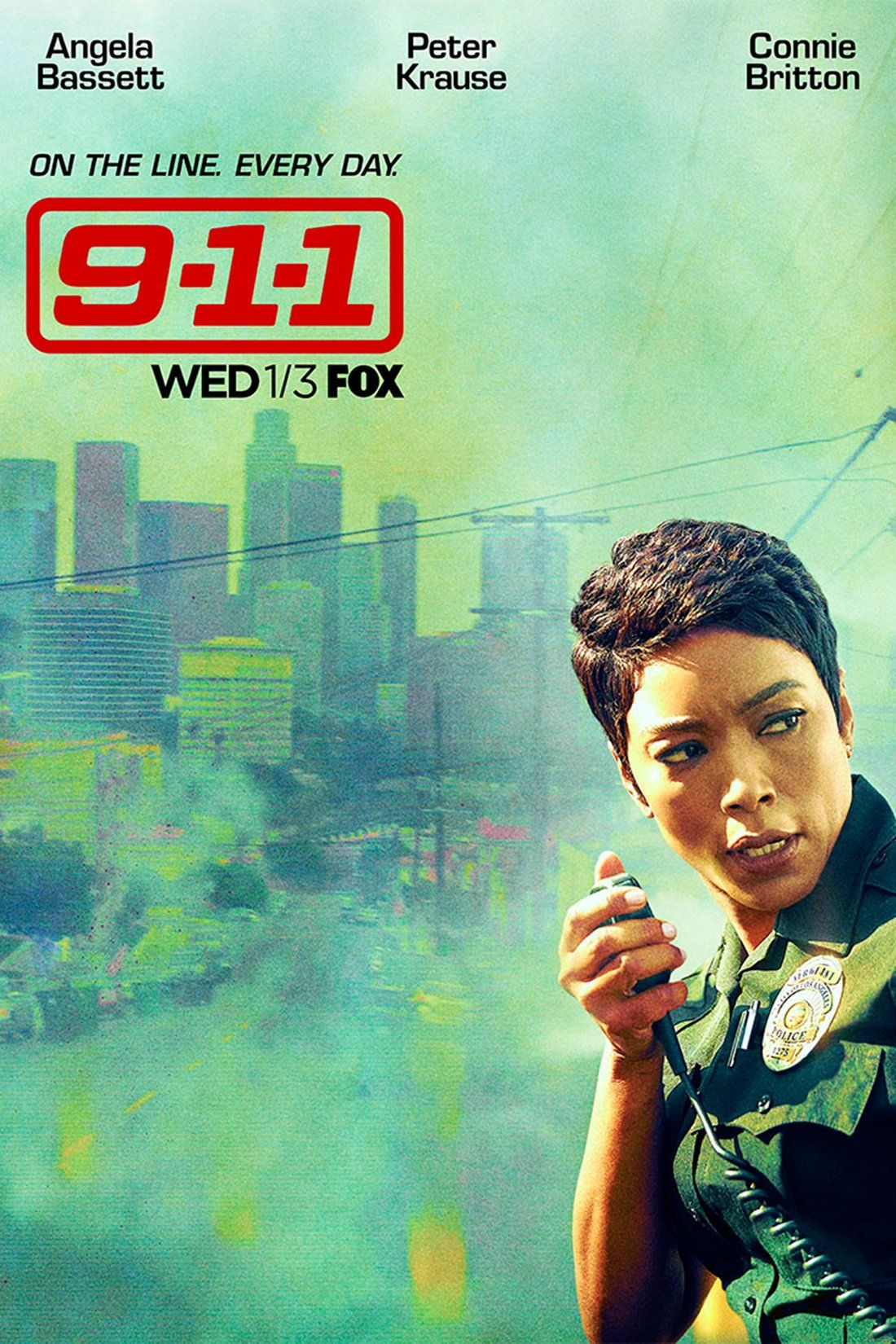 See The Terrifying New Poster For 9 1 1 The Drama From The