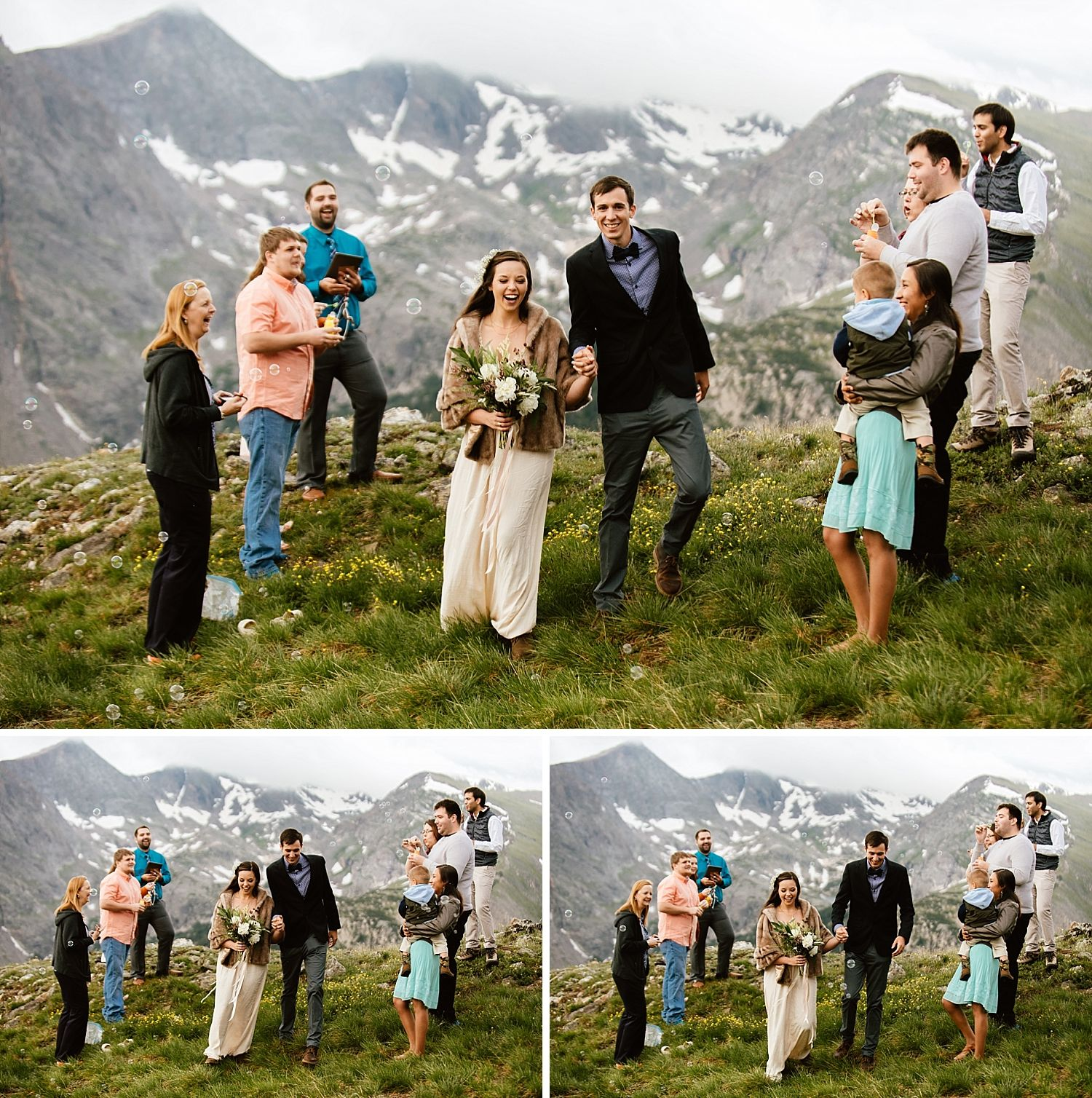Jessica & Edward • Rocky Mountain National Park Elopement • Estes ...