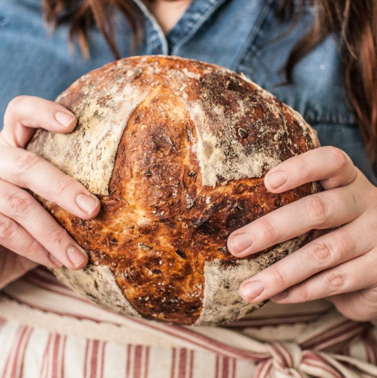 Artisan Sage and Onion Bread   Recipe in 2020 (With images ...
