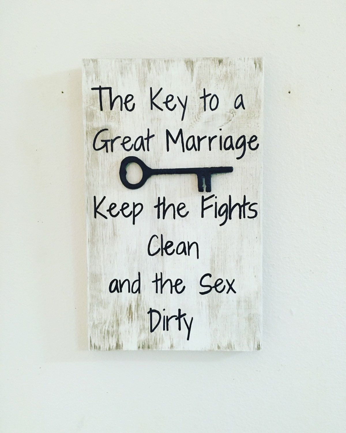 Marriage Quote, The Key To Marriage, Keep The Fights Clean -6168