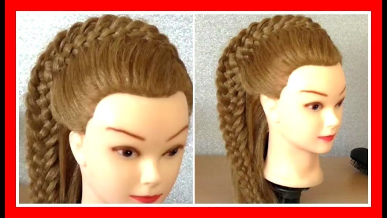 Woven crown braid hairstyle hairglamour styles braids hair