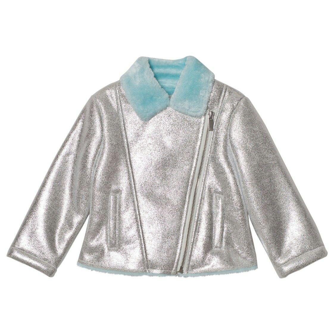 Pin By Gavriliu Diana On Babyshop Jackets Biker Jacket Little Fashion
