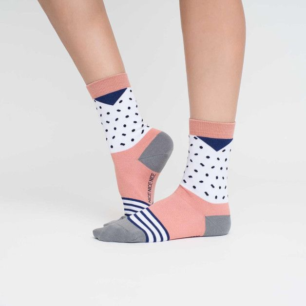 nice socks, bunte Socken für Sie und Ihn. *Achtung, momentan nur noch in 40-43 verfügbar*  Die Socken sind aus hautsympathischer, feiner Softbaumwolle, an der Ferse und Spitze extra verstärkt...