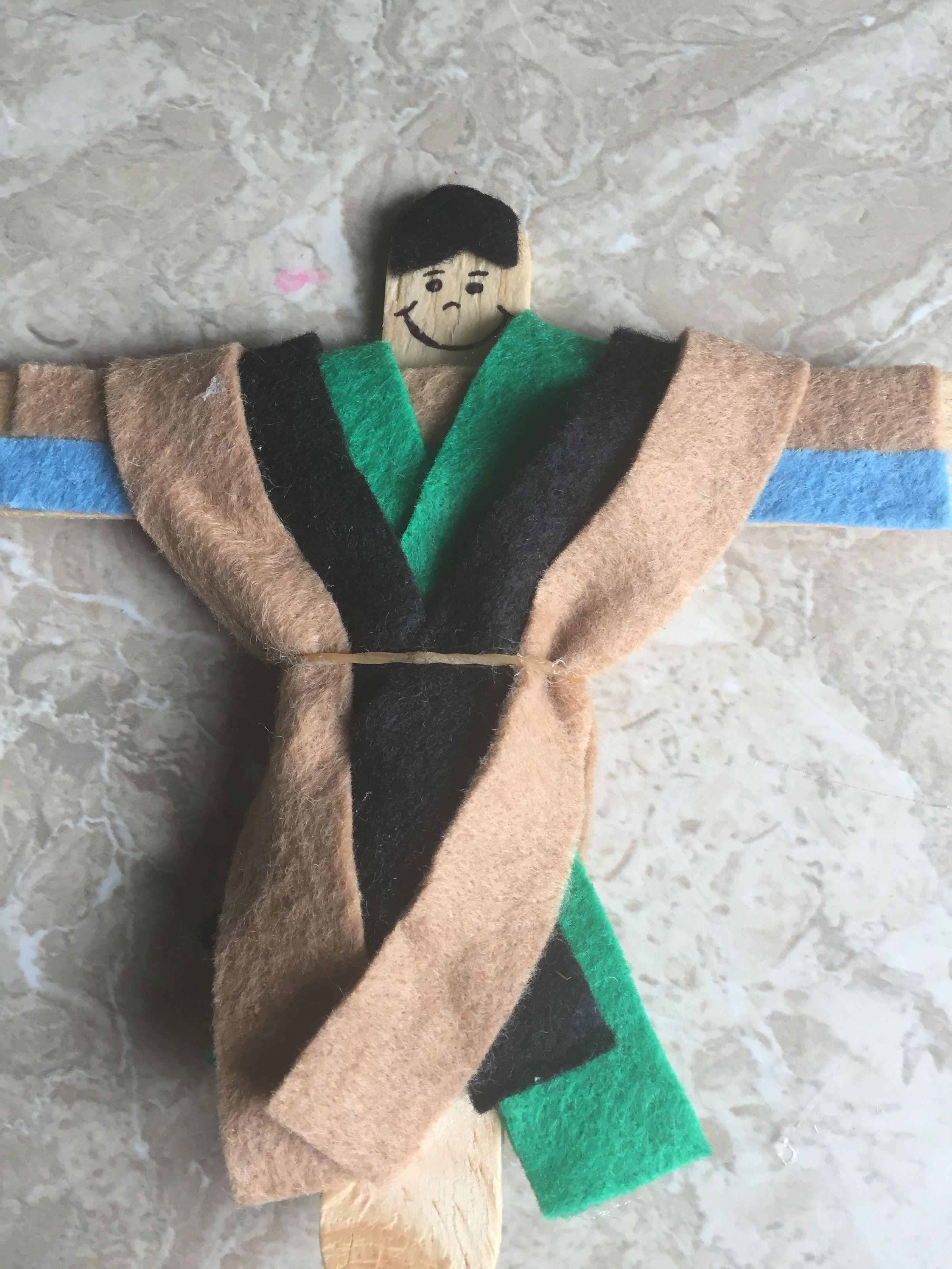 José el Soñador con su túnica de colores