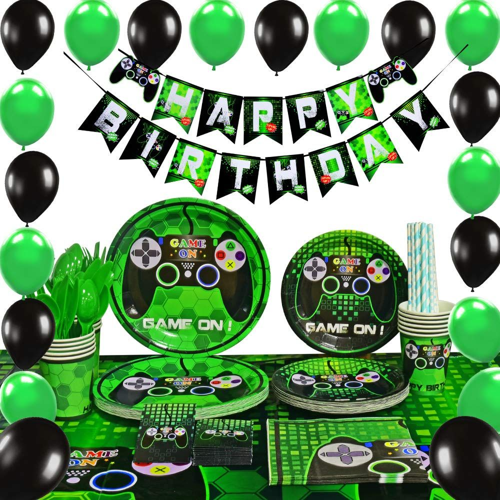 Let's Party Gaming Video game party, Birthday party