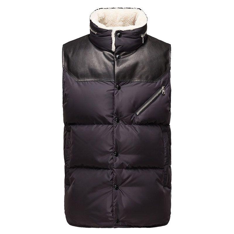 Men Moncler Black Avord Nylon Sophisticated Vest