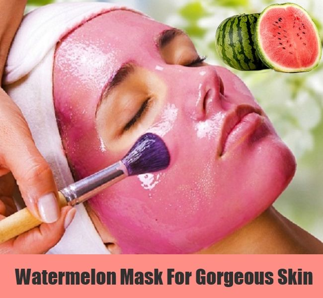 Watermelon for fresh and young skin