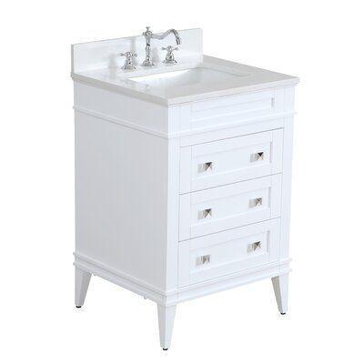 Wrought Studio Eastwood 24 Single Bathroom Vanity Set In 2020