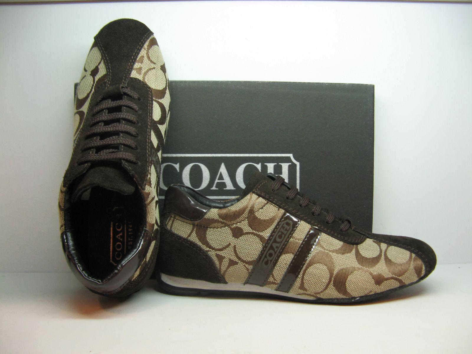 Coach tennis shoes, Coach boots