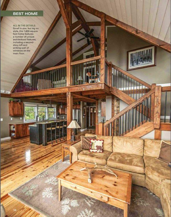 Small Barn Home Wins BIG Award | Barndominium Lofts ...