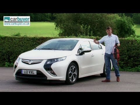 Vauxhall Ampera Chevrolet Volt Review Carbuyer Youtube