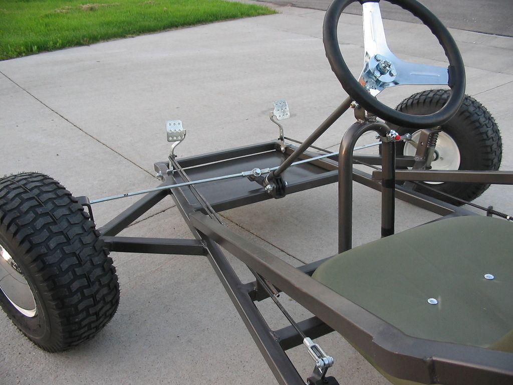 Scorpion Three Wheeled Go Kart Plans | Garage | Pinterest | Autos de ...