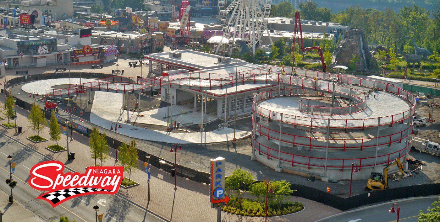 Niagara Falls Mario Kart Style Race Track Is Officially Opening This Spring Race Track Niagara Falls Go Kart Tracks