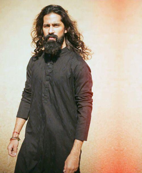 Desi Men Abbas Jafri Mens Facial Hair Styles Long Hair Styles Men Beard Styles