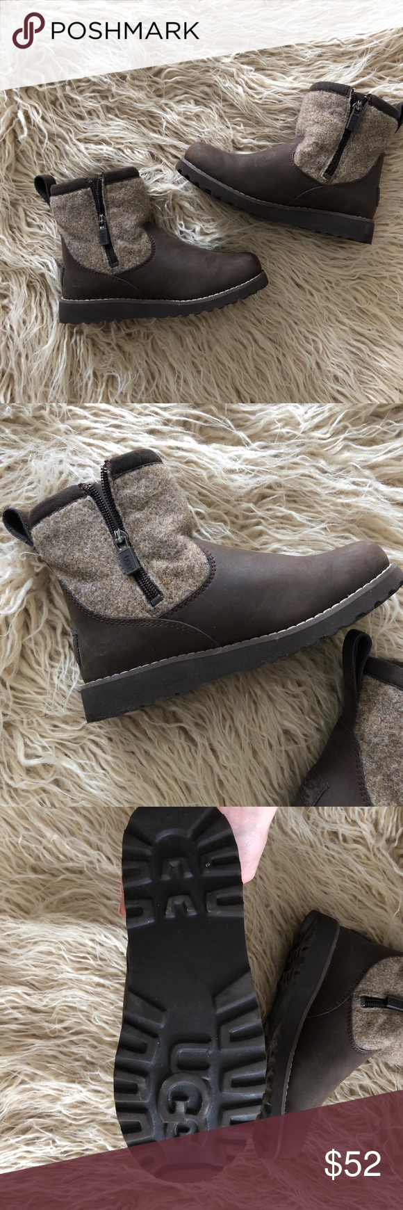 54e1efe169a UGG Kids Boots / K Bayson II Pull-on Boot One pair of kids Ugg boots ...