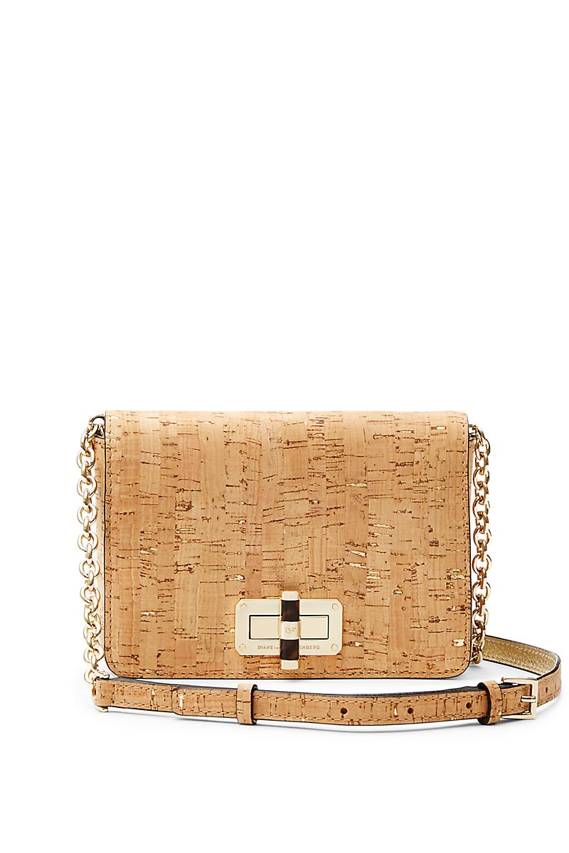 e3e38a3daa5 DVF 440 Gallery Bellini Cork Crossbody Bag | Accessorize | Bags ...