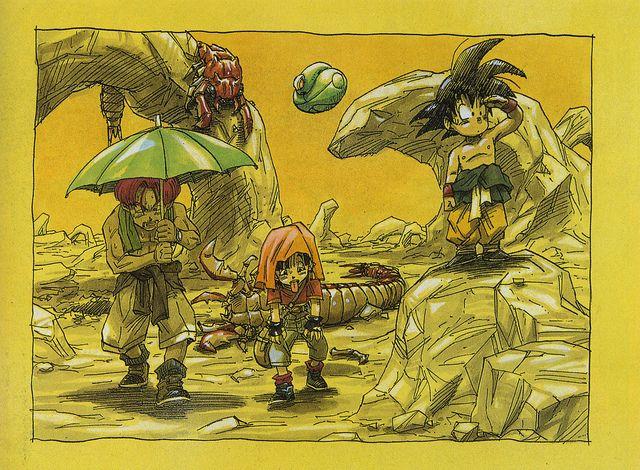 Akira Toriyama Dragon Ball Gt Art Sketch Dragon Ball Gt Illustration Dragon Ball