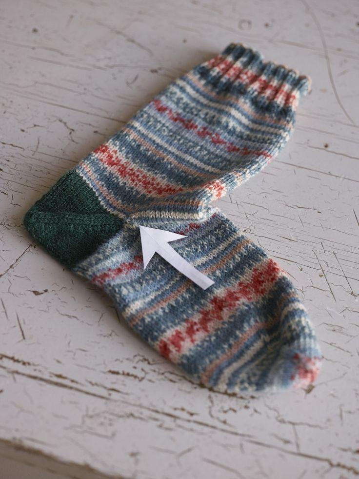 Easiest Sock In The World Pattern Knit Pinterest Socks