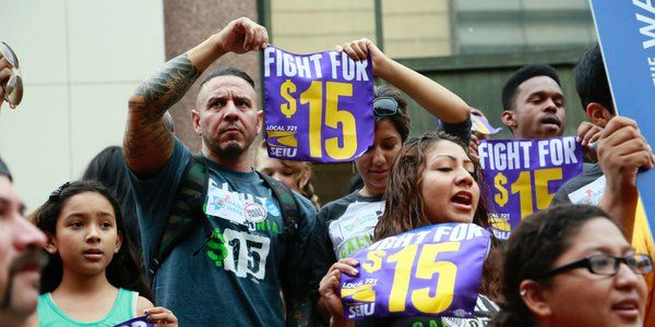 California Minimum Wage Will Gradually Increase To 15 Minimum Wage World Business News California
