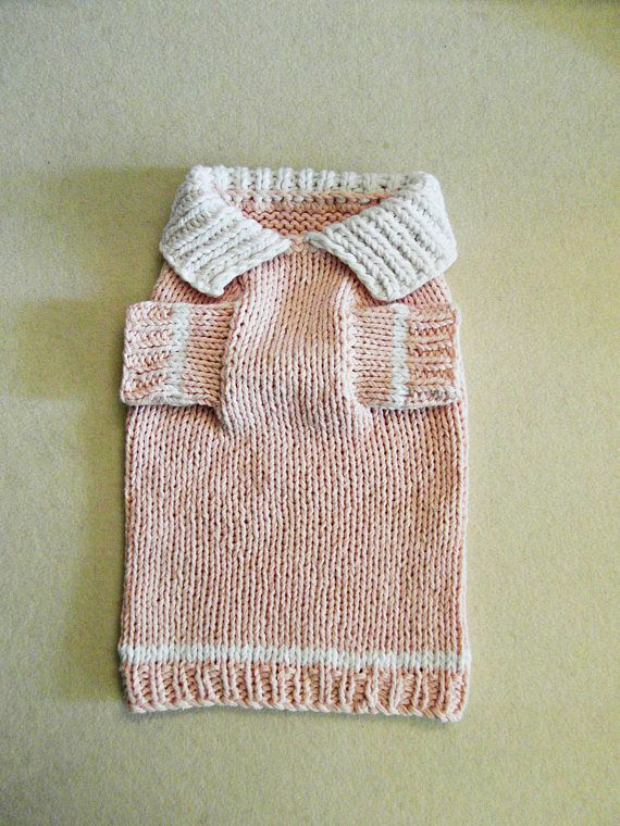 Dog Clothes - T-shirt dog sweater, Cotton dog sweater, handmade dog ...