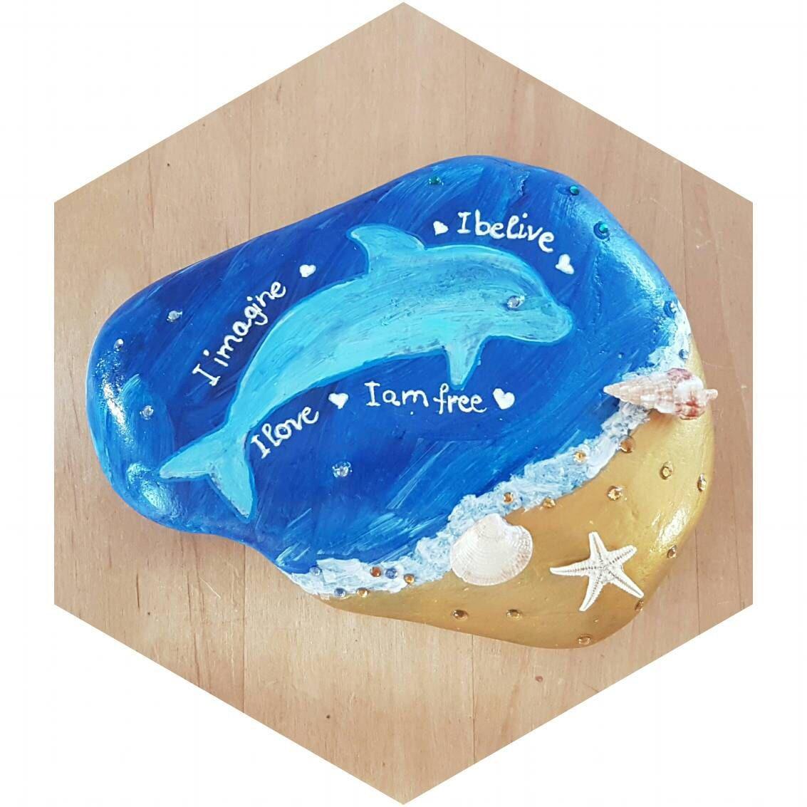 Delfin stein geschenk f r viele anl sse geburtstag for Dekoration ruhestand