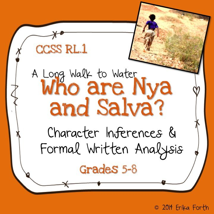 A Long Walk To Water Character Inferences Analysis Phineas