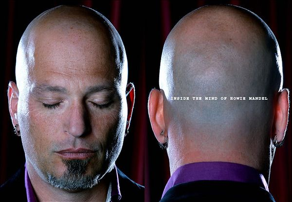 Howie mandel shaved share your