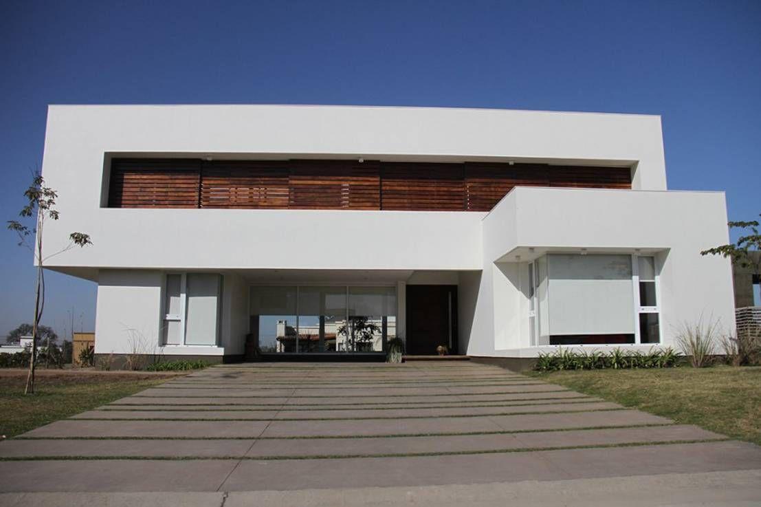 10 fachadas minimalistas por el mundo for the home for Casas modernas imagenes y planos