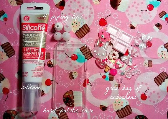 more photos 58df7 47e2d ♥ MAKE YOUR OWN DECODEN WHIPPED PHONE CASE ♥ ♥ what the kit comes ...