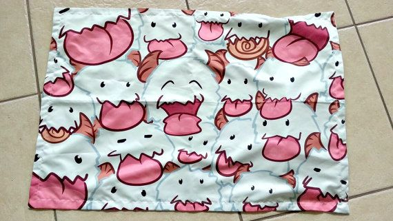 League of Legends Poro Pillow Case Bedding PREORDER Arrives in 4-6 weeks