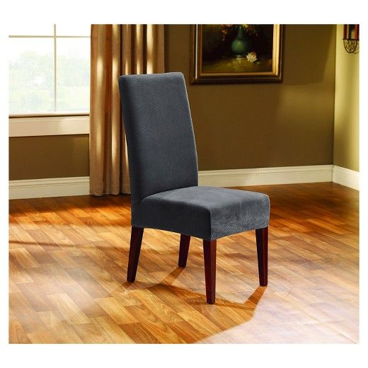 Superior Add A New Look To Your Dining Room Chair With The Sure Fit Stretch Oxford  Slipcover