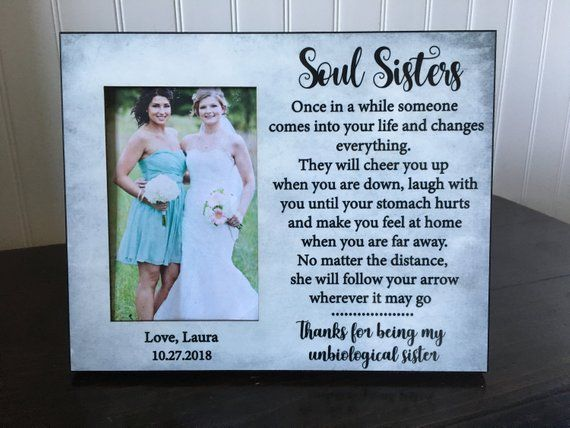 Soul Sister Picture Frame Best Friend Picture Frame