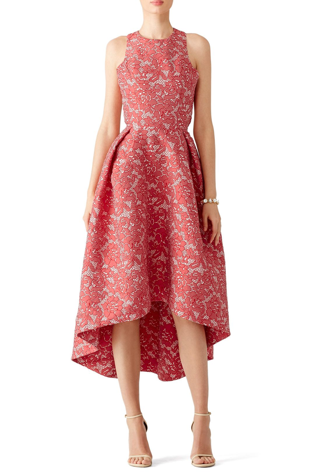Monique Lhuillier Flower Dress